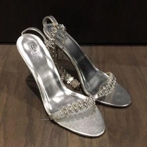 Silver Bakers High Heel Shoes